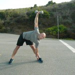 Let hand go down to heel if possible and maintain posture on your ascent